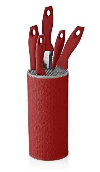 Sweet Petek Kırmızı 6'lı Bıçak Seti