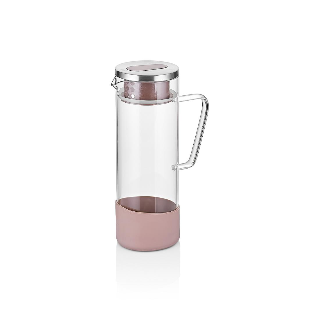 Neva - Rose Chocolate Cam Sürahi