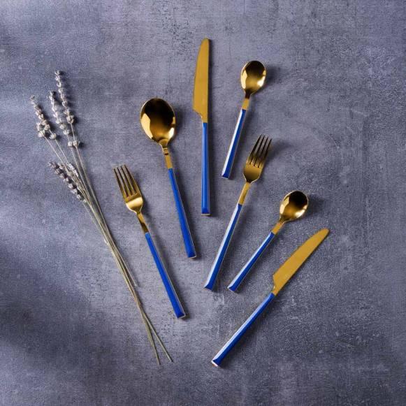 Yakamoz 24 Parça Çatal Kaşık Bıçak Seti
