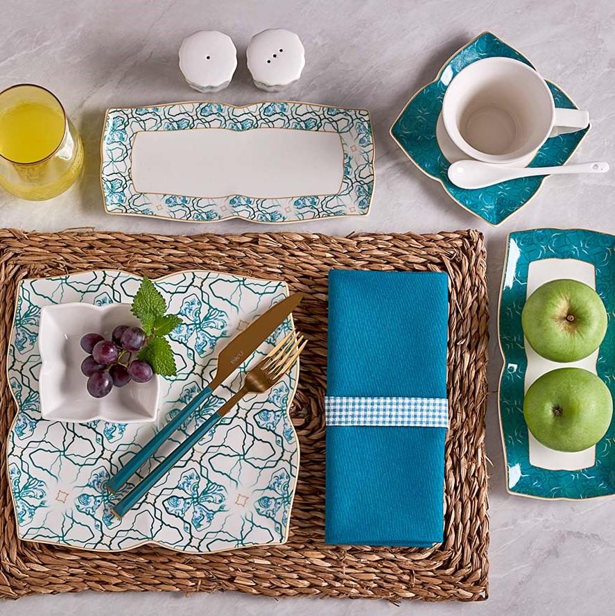 Neva - Mentol Esinti 32 Parça Kahvaltı Takımı