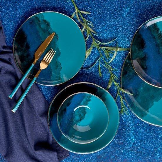 Neva - Mentol Dream 24 Parça Yemek Takımı