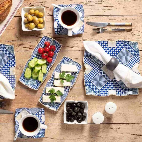 Yakamoz Dolunay 32 Parça Kahvaltı Takımı