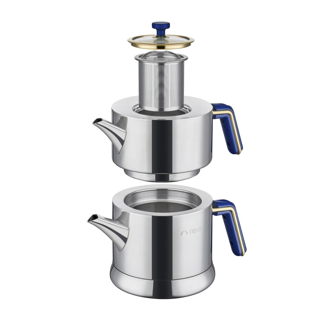 Yakamoz Bemol Çelik Çaydanlık