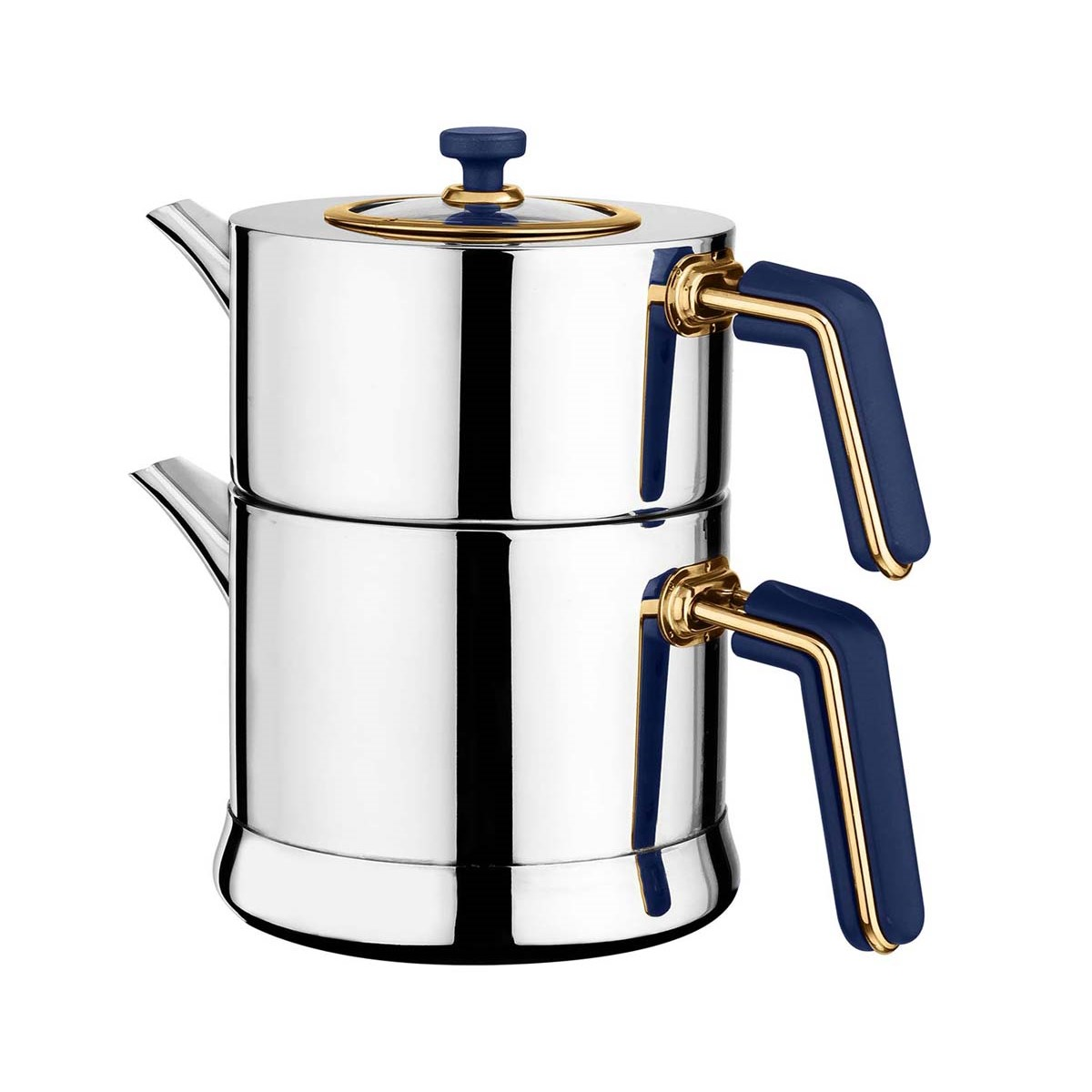 Yakamoz Bemol Çelik Çaydanlık - Thumbnail