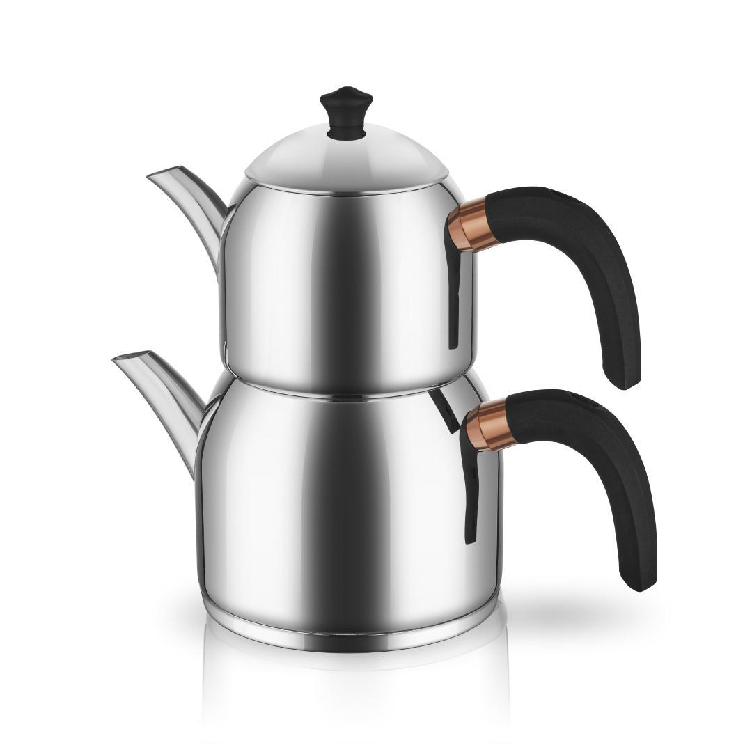 Neva - Bitter Leya Çelik Çaydanlık