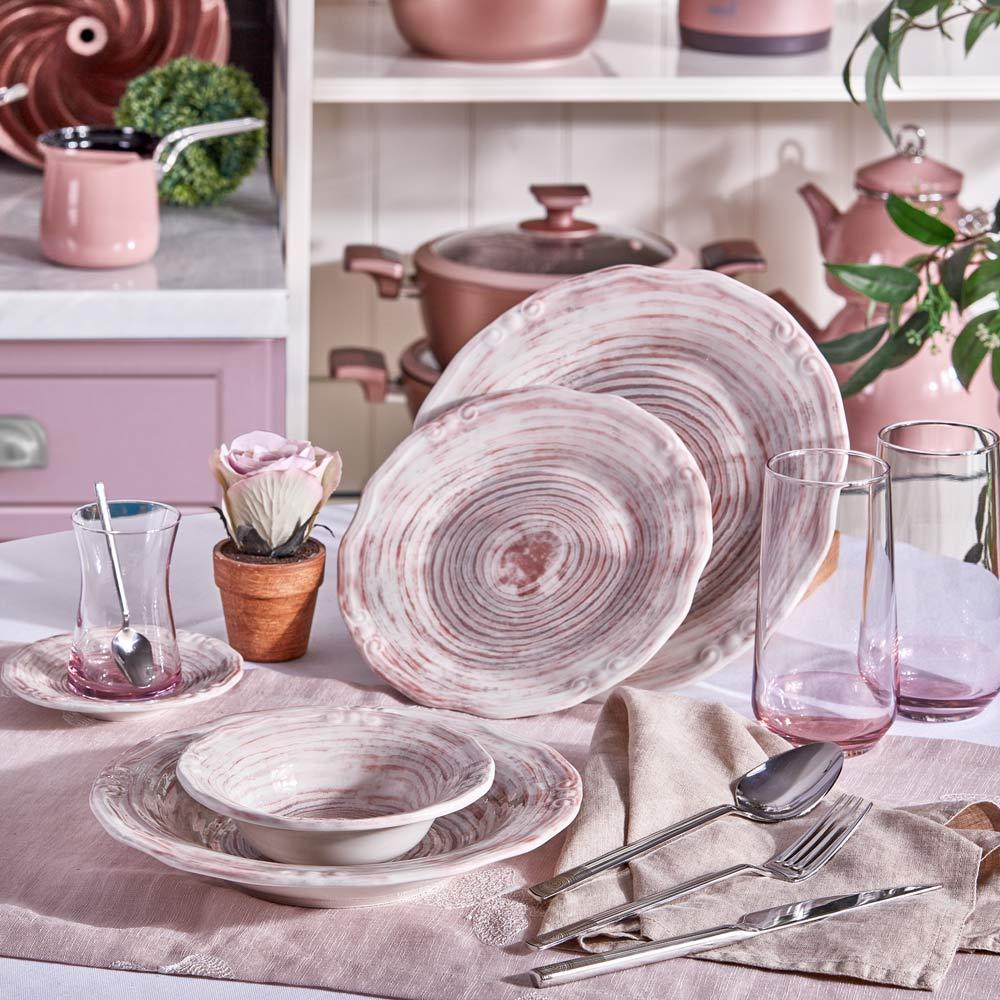 Günlük Kombinim - Rose Chocolate Eksen - Thumbnail