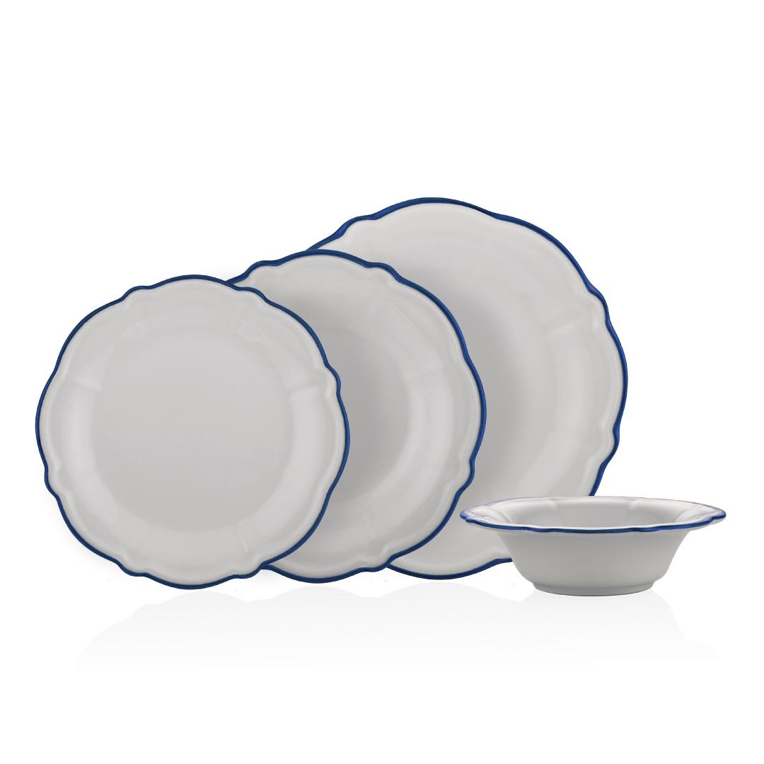 Neva - Yakamoz Yörünge 24 Parça Yemek Takımı