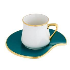 Neva - Mentol Plus 6 Kişilik Kahve Fincan Seti